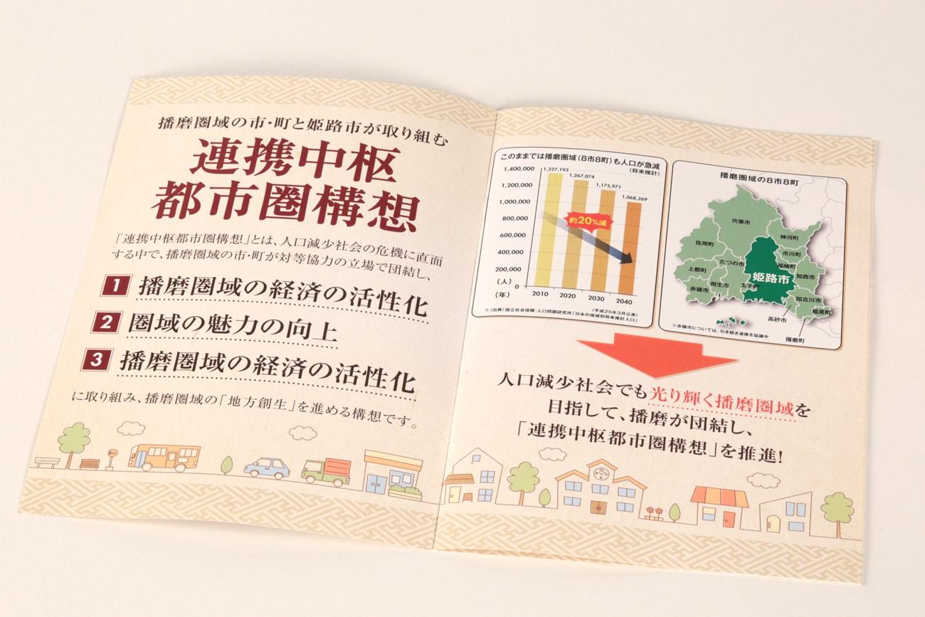 姫路市 播磨広域連携協議会 連携中枢都市構想パンフレット2
