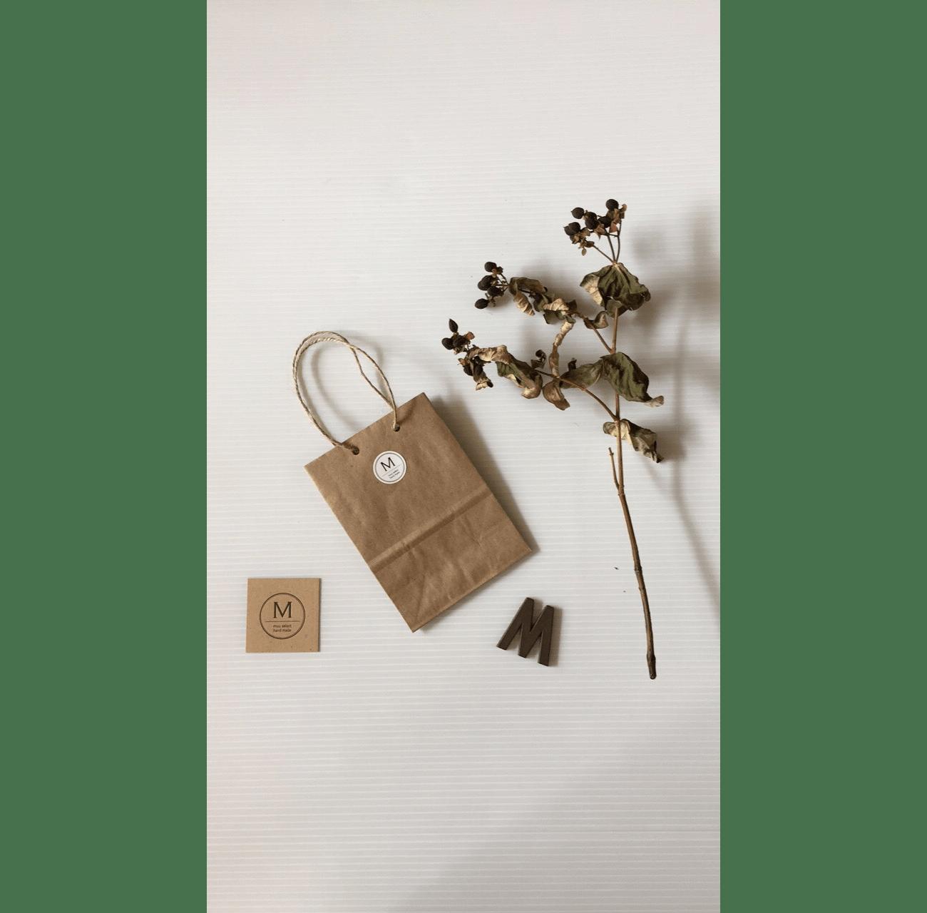 姫路市 雑貨ショップmuu様 ロゴ・名刺デザイン制作2
