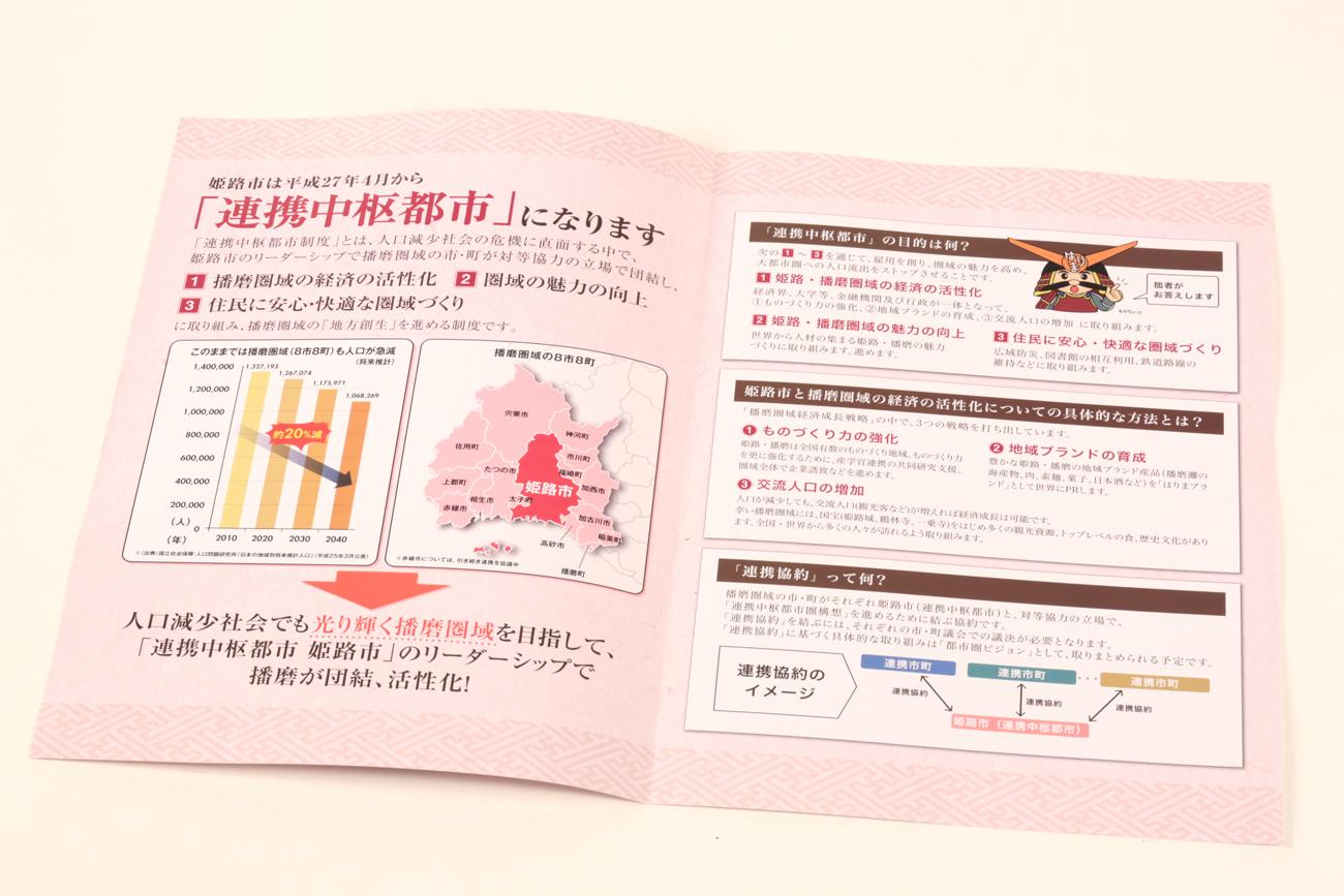 播磨広域連携協議会 連携中枢都市制度パンフレット4