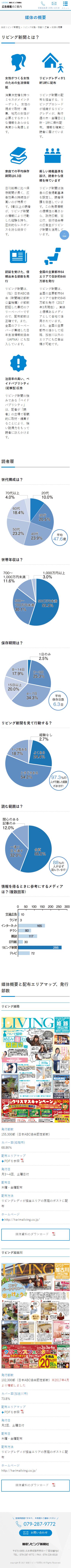 姫路市 播磨リビング新聞社様 広告掲載案内ページ2