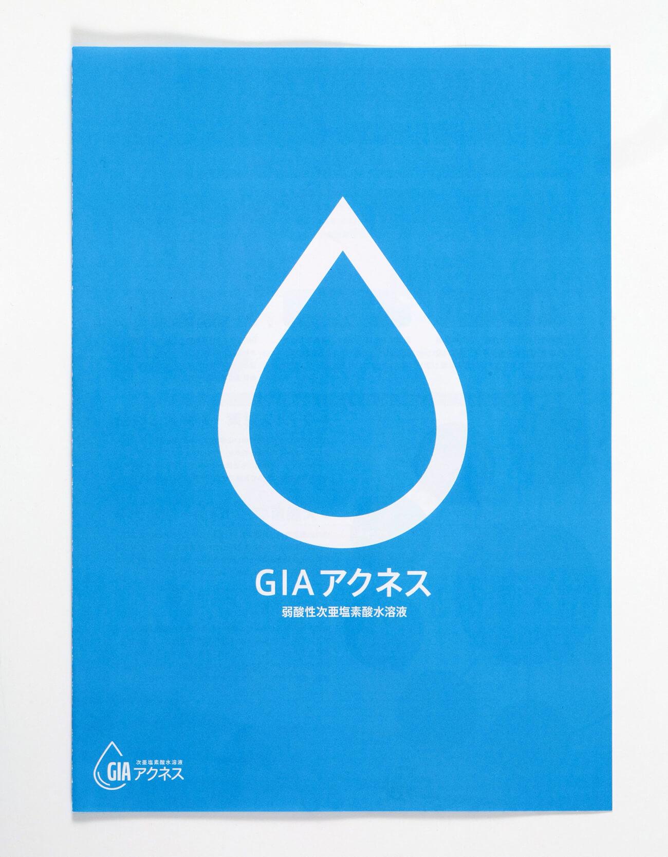 GIAアクネス パンフレット制作1