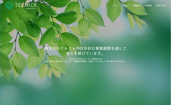 姫路市 株式会社テルミック ホームページ制作